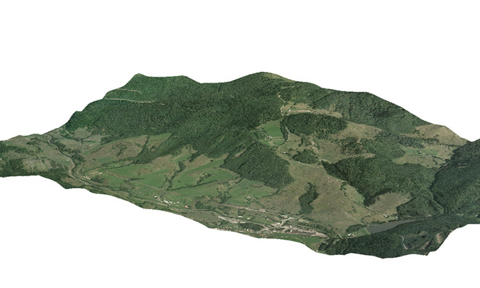 3D model ArcGIS - ArcScene