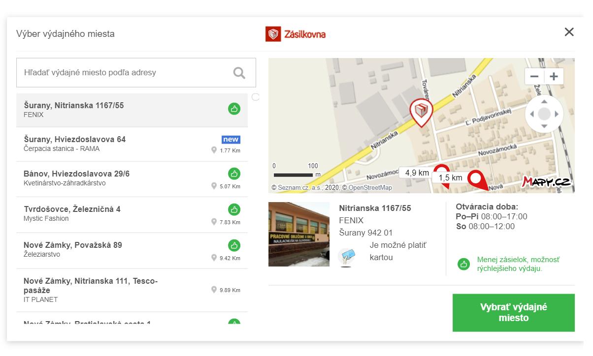 Integrácia Zásielkovne do e-shopu