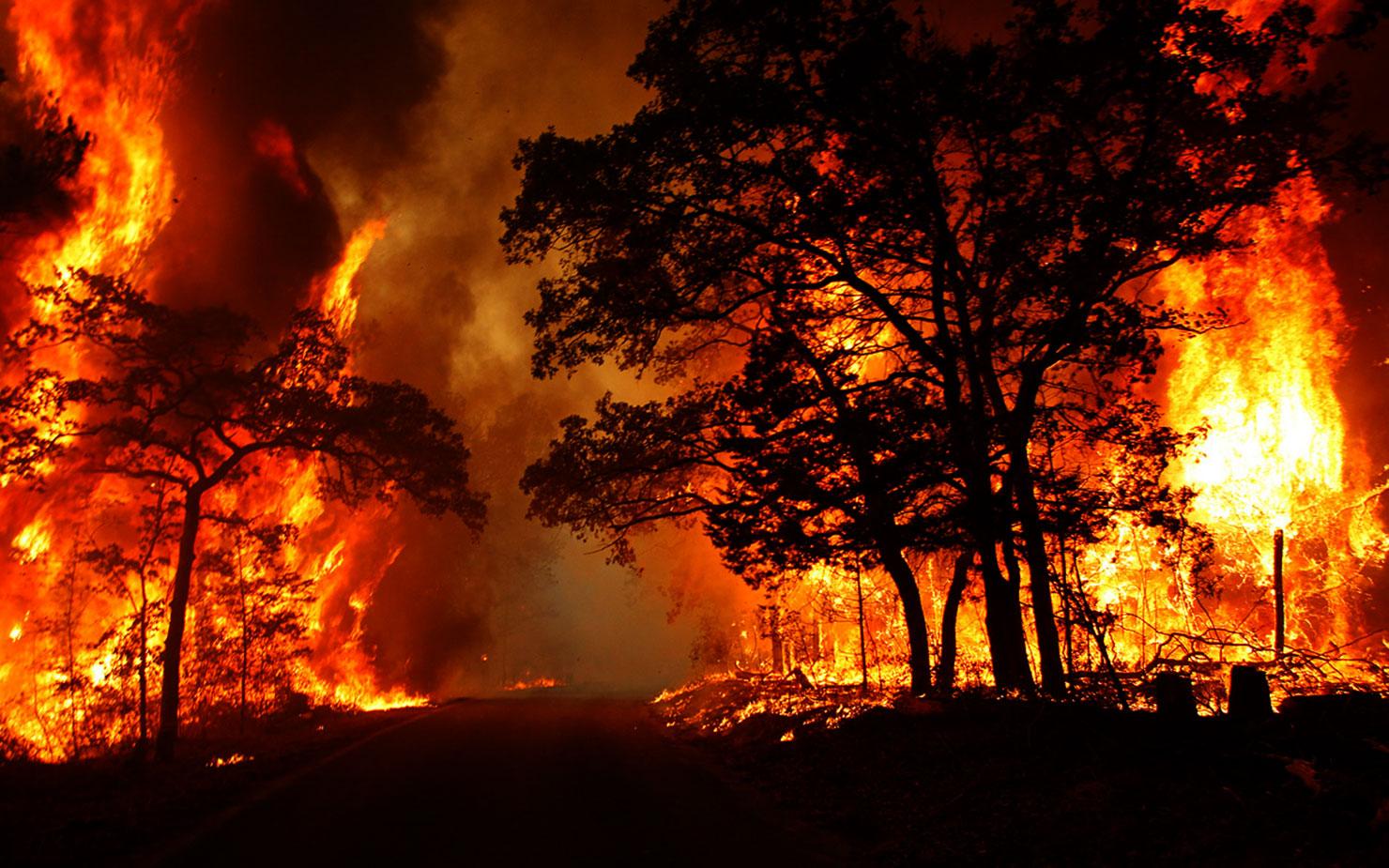 Model náchylnosti územia na vznik požiaru