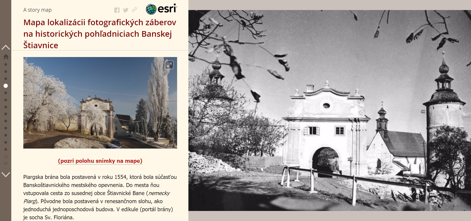 Porovnanie historických fotografií so súčasnosťou