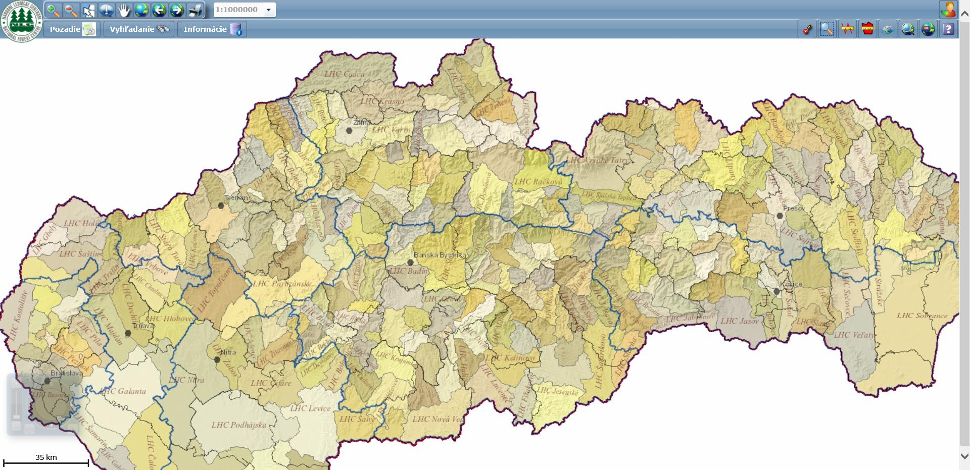 Lesnícky geografický informačný systém