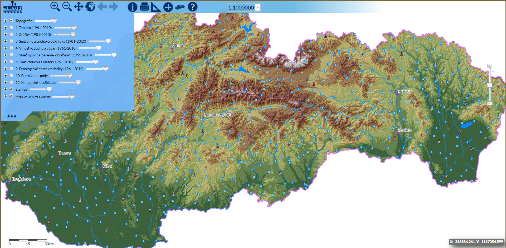 Klimatický Atlas