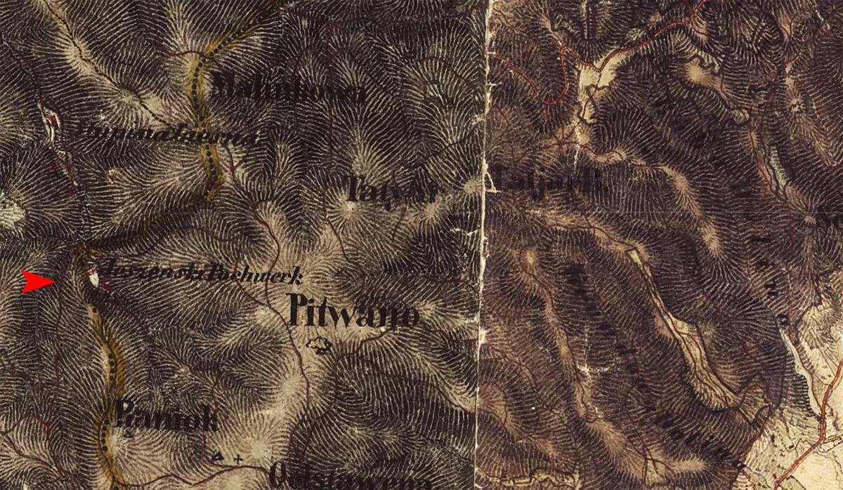 Tajch nad obcou Brehy