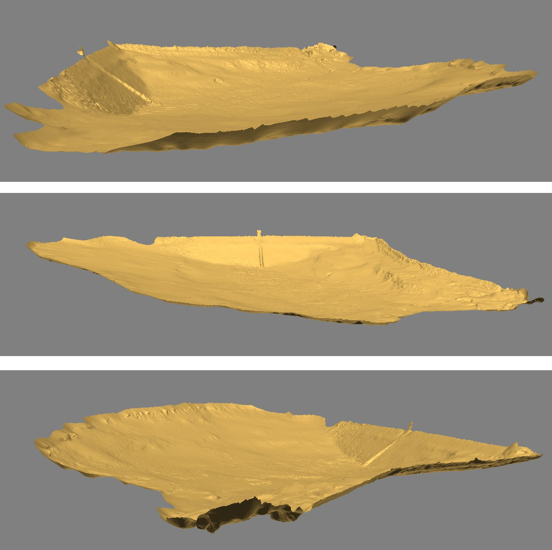 Ukážka modelov z optického skenovania fotoaparátom