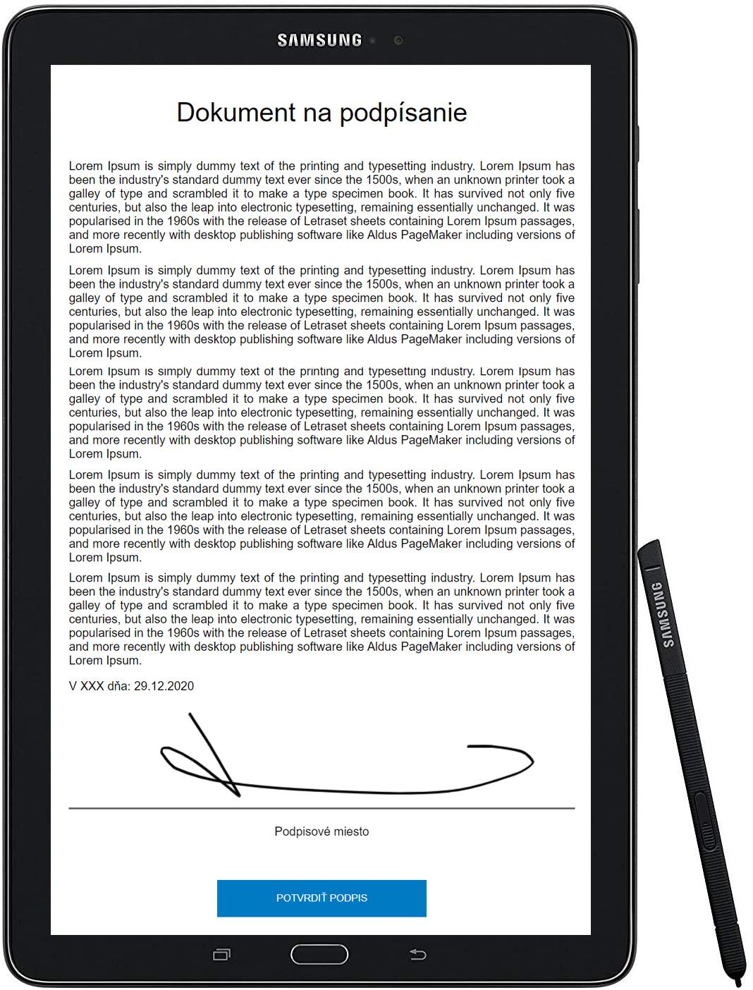 Vlastnoručné podpisovanie dokumentov jednoducho a nízkonákladovo