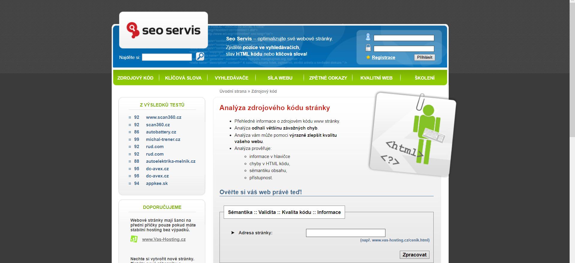 Zoznam bezplatných nástrojov pre prácu s webom