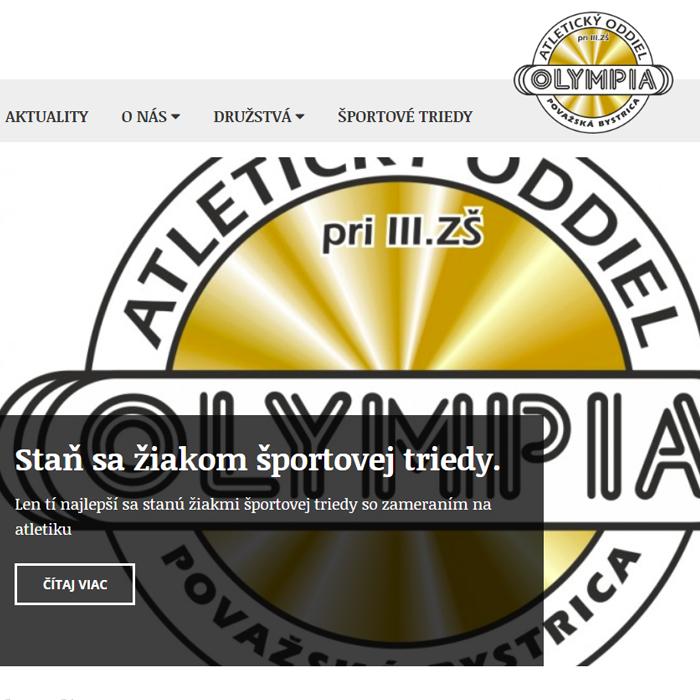 Olympia: Atletický oddiel Považská Bystrica