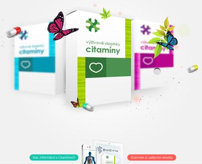 Citamíny / bioaktívne výživové doplnky