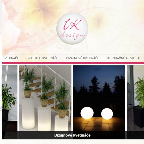 Dizajnové kvetináče