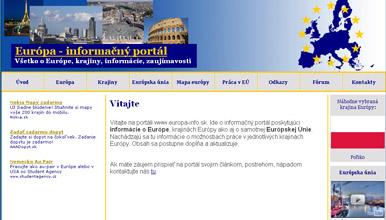 Info portál o Európe