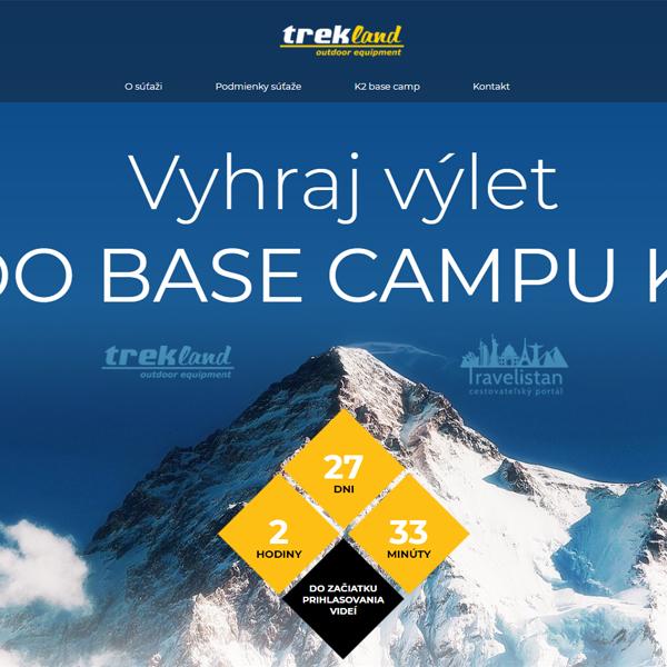 Súťaž s Treklandom - natoč video a vyhraj výlet pod K2
