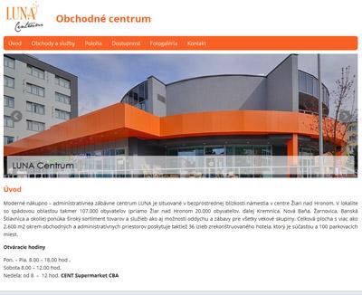 LUNA Centrum Žiar nad Hronom