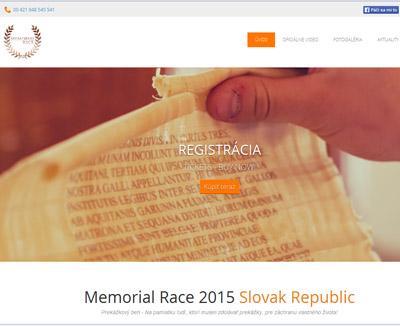 Memorial Race 2015 Slovak Republic