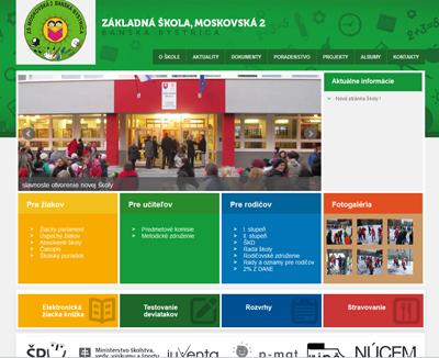Základná škola, Moskovská 2, B. Bystrica