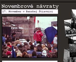 November v B. Štiavnici