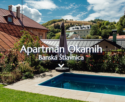 Apartmán Okamih Banská Štiavnica