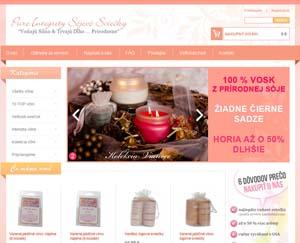Pureintegrity: sójové sviečky