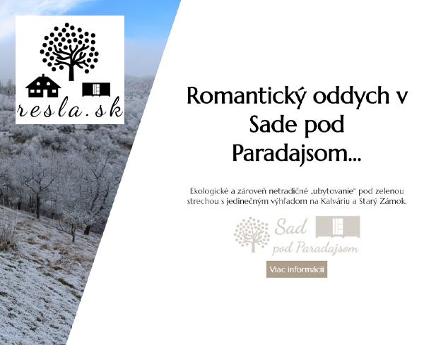 Resla - Oddych plný zážitkov a histórie v meste Banská Štiavnica