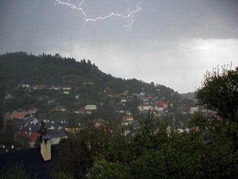 náhodný obrázok z galérie Búrka a blesky