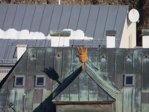Nástrešník na Kammerhofskej 25, budova hlavného banského úradu