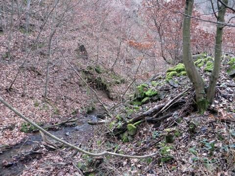 Tajch nad obcou Brehy - hrádza nádrže