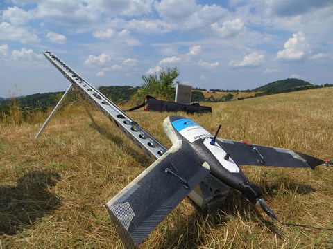 UAV technológia