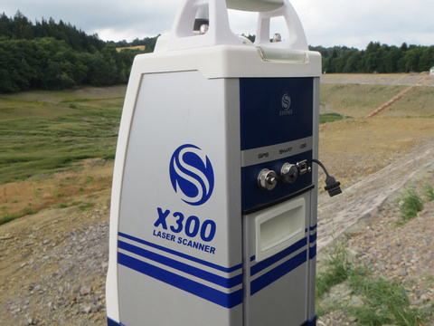 3D laserový skener