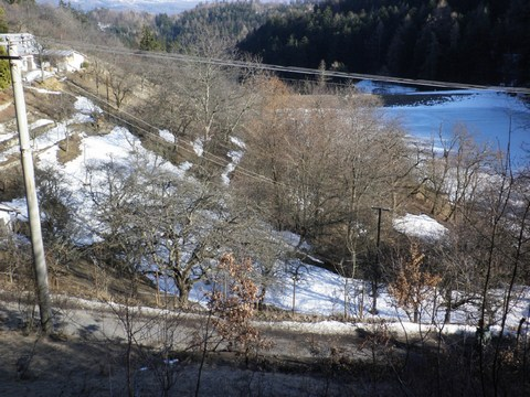 Predpokladané miesta ukončenia jarku Klingerštolniansky severovýchodný