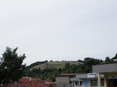 Pohľad na Svätotrojičný vrch