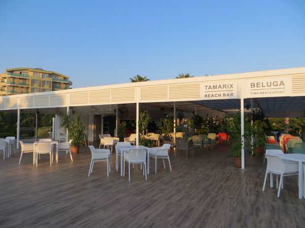 Reštaurácia na pláži